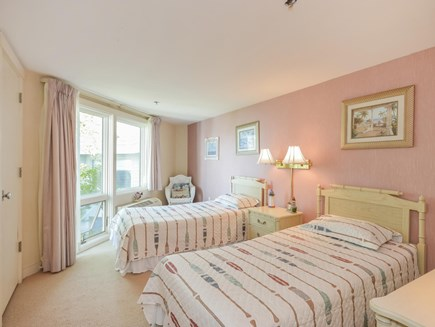 New Seabury New Seabury vacation rental - Guest bedroom with twin beds and ocean view