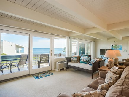 New Seabury New Seabury vacation rental - Third bedroom with ocean view, deck and sofa bed