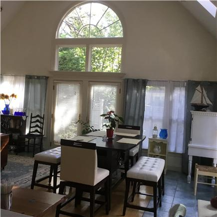 Dennis Cape Cod vacation rental - Great room looking out to deck
