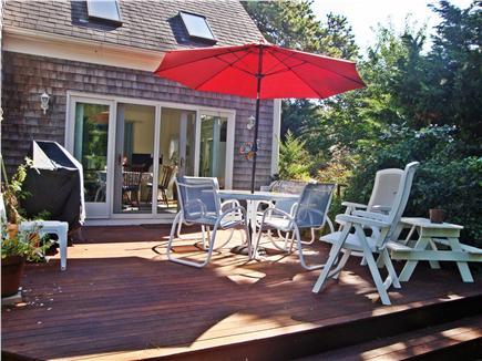 Dennis Cape Cod vacation rental - The Deck