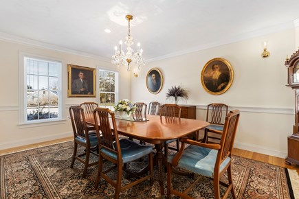 Chatham, downtown Cape Cod vacation rental - Large dining room for special occasion meals