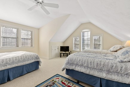 Chatham, downtown Cape Cod vacation rental - Bonus room-queen, two twins, full bath and TV