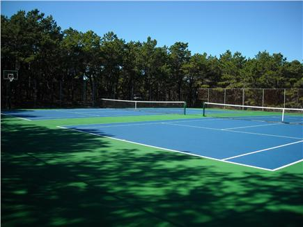 Wellfleet Cape Cod vacation rental - Tennis courts and basketball hoop
