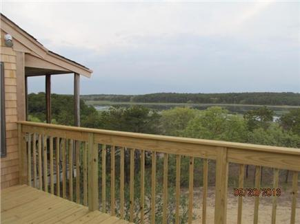 Wellfleet Cape Cod vacation rental - View from living area, deck and screen porch