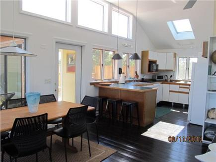 Wellfleet Cape Cod vacation rental - Dining area and kitchen