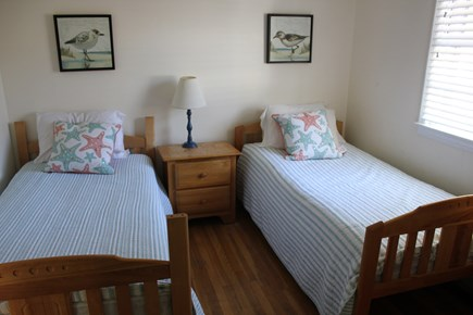 West Yarmouth Cape Cod vacation rental - Twin bedroom (2 of 2) upstairs with bureau and closet
