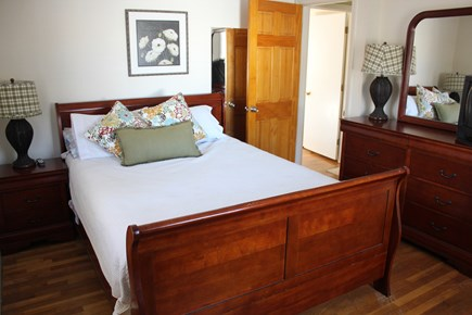 West Yarmouth Cape Cod vacation rental - Queen bedroom upstairs with bureau, dresser and closet