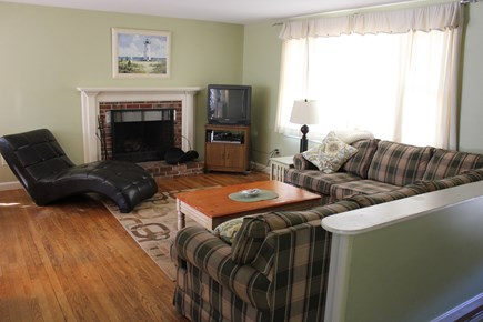 West Yarmouth Cape Cod vacation rental - Upstairs Living Room