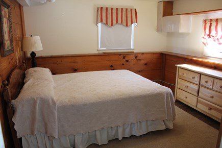 West Yarmouth Cape Cod vacation rental - Queen bedroom downstairs with bureau and dresser