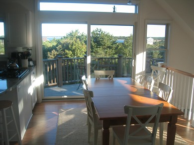 Wellfleet Cape Cod vacation rental - Dining Room Area