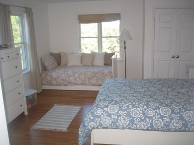 Wellfleet Cape Cod vacation rental - First Floor Bedroom (with day bed/trundle bed)