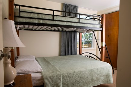Dennis Port Cape Cod vacation rental - Bunk Bed with Double on bottom