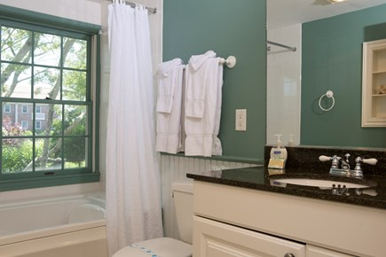 Dennis Port Cape Cod vacation rental - 1st Full Bath with Whirlpool Tub