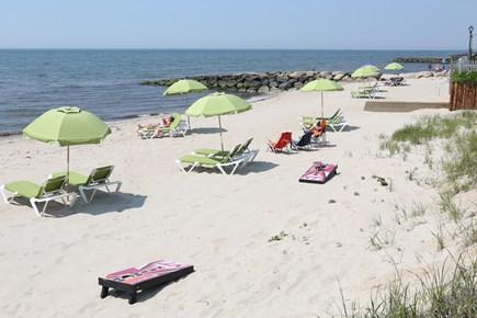 Dennis Port Cape Cod vacation rental - Resort Beach across the street
