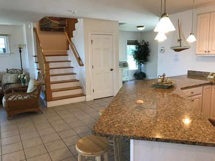 Dennis Port Cape Cod vacation rental - Stairs leading to 2nd Floor Bedrooms and baths