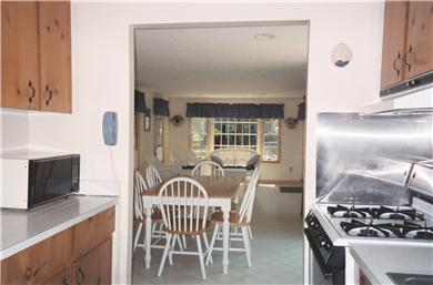 East Falmouth (Belmar) Cape Cod vacation rental - Kitchen-Dining area