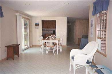 East Falmouth (Belmar) Cape Cod vacation rental - Sitting-Dining area