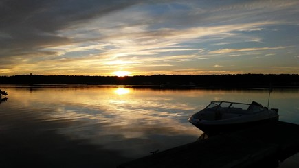 Mashpee, Monomoscoy - steps to water Cape Cod vacation rental - Beautiful sunsets!