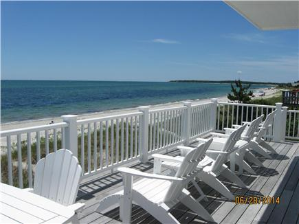 West Yarmouth Cape Cod vacation rental - View from the deck