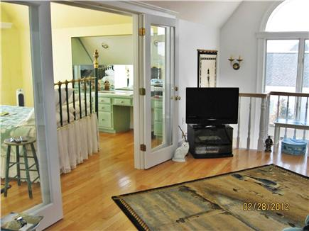 West Yarmouth Cape Cod vacation rental - 2nd Floor sitting area with master bedroom beyond