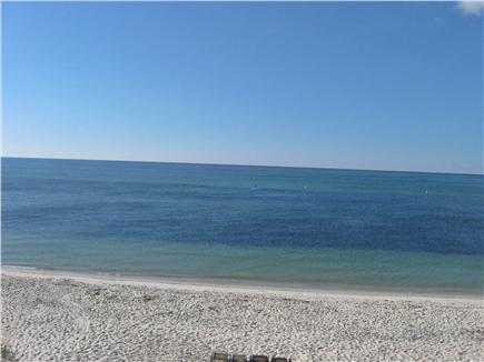 Yarmouth, Great Island Ocean Club, West  Cape Cod vacation rental - View from deck, steps away from sandy beach.