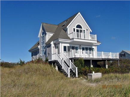 Yarmouth, Great Island Ocean Club, West  Cape Cod vacation rental - view of house from the beach