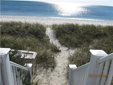 Yarmouth, Great Island Ocean Club, West  Cape Cod vacation rental - Path from house to private beach