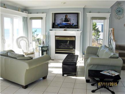 West Yarmouth Cape Cod vacation rental - 1st floor sitting area overlooking ocean