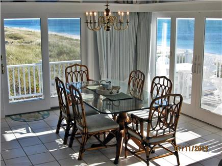 West Yarmouth Cape Cod vacation rental - Dining area with view of the ocean