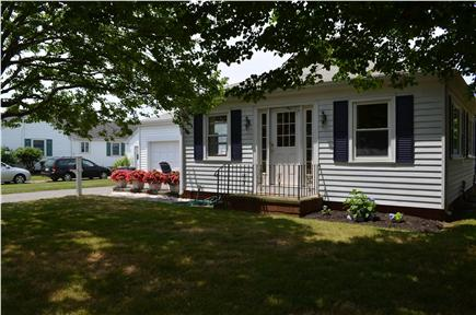 Falmouth Surf Drive Beach Cape Cod vacation rental - Front of house from Shore Street