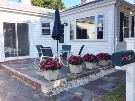 Falmouth Surf Drive Beach Cape Cod vacation rental - Patio for your enjoyment