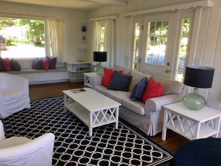 Falmouth Surf Drive Beach Cape Cod vacation rental - Newly painted living room