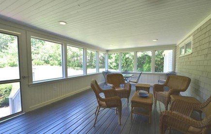 Osterville Osterville vacation rental - Screened in porch