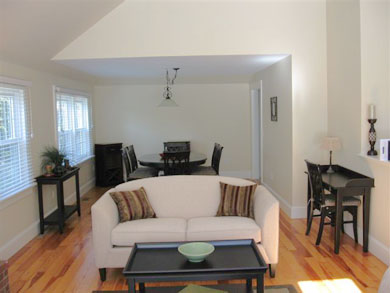 Osterville Osterville vacation rental - Living Room looking into Dining Area