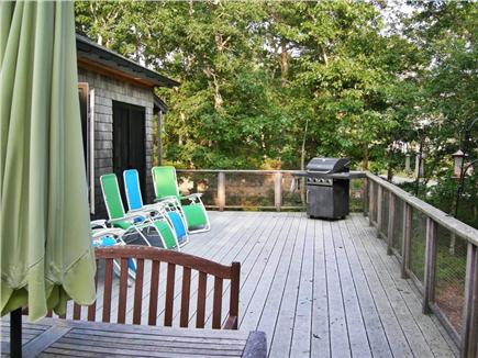 Wellfleet--Ocean Side Cape Cod vacation rental - Relax, bird-watch or dine out on the spacious deck