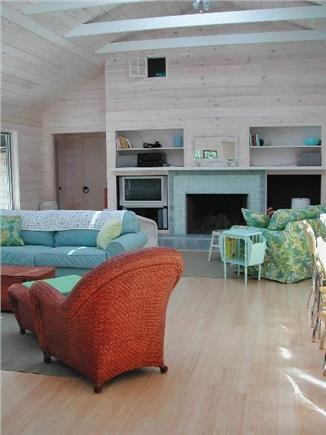 Wellfleet--Ocean Side Cape Cod vacation rental - Welcome to our home! Note the peekaboo window from sleeping loft