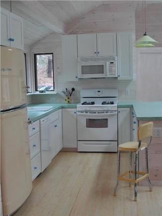 Wellfleet--Ocean Side Cape Cod vacation rental - Cute retro kitchen