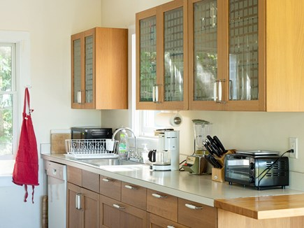 Truro Cape Cod vacation rental - One side of kitchen