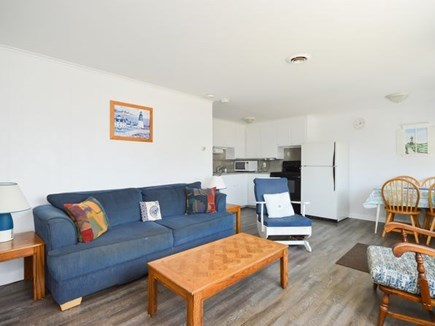 West Dennis Cape Cod vacation rental - Open Living room and dining