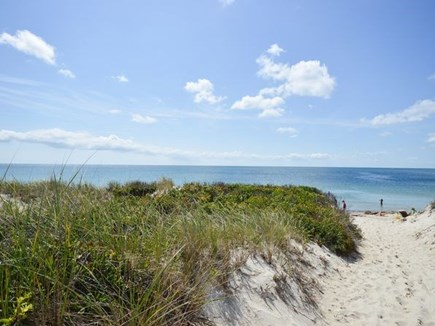 West Dennis Cape Cod vacation rental - Steps to shared private residents only oceanfront beach
