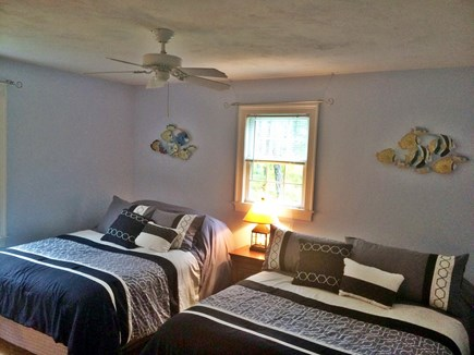 Wellfleet Cape Cod vacation rental - Bedroom 3 Two Queen