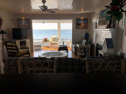 West Yarmouth Cape Cod vacation rental - View from Kitchen