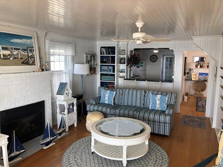 West Yarmouth Cape Cod vacation rental - Living Room