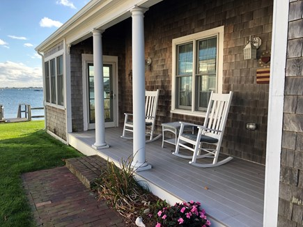 West Yarmouth Cape Cod vacation rental - Side Porch