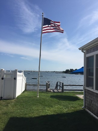 West Yarmouth Cape Cod vacation rental - Side yard