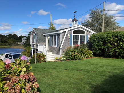 West Yarmouth Cape Cod vacation rental - The Little House located on property
