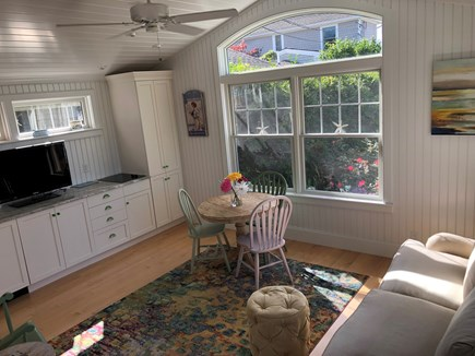 West Yarmouth Cape Cod vacation rental - Living Room in the Little House
