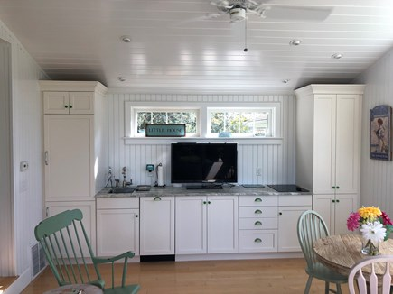 West Yarmouth Cape Cod vacation rental - The Little House has own refrigerator, dishwasher, + stovetop