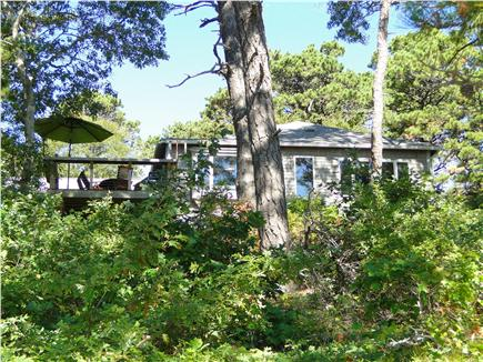 S. Wellfleet Cape Cod vacation rental - View of the house from the water below