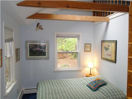 S. Wellfleet Cape Cod vacation rental - Double bedroom with large closet, loft